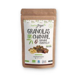 GRANOLAS BIO CHANVRE & BANANE CHOCOLAT
