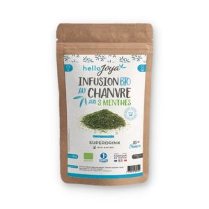 Infusion BIO – Chanvre & 3 menthes