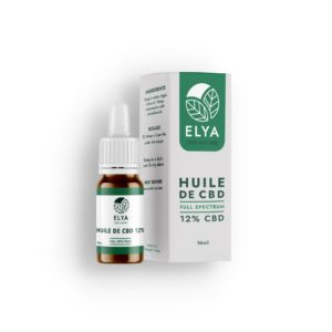 Huile ELYA 12% – Huile sublinguale – Full Spectrum