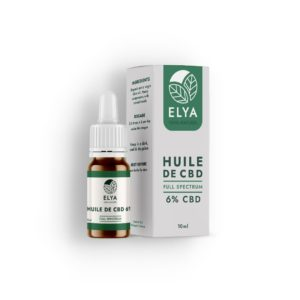Huile ELYA 6% – Huile sublinguale – Full Spectrum
