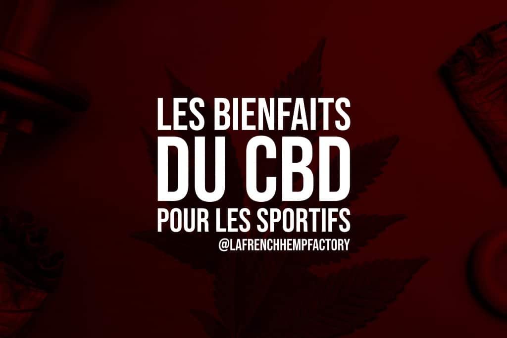le CBD pour les sportifs