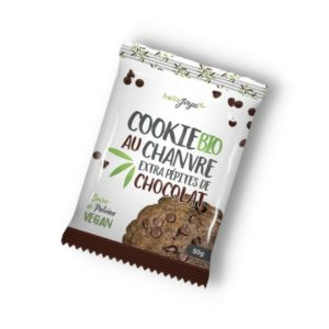 cookies au chanvre et chocolat