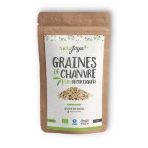 graines de chanvre décortiquées